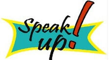 The Speak Up! Logo