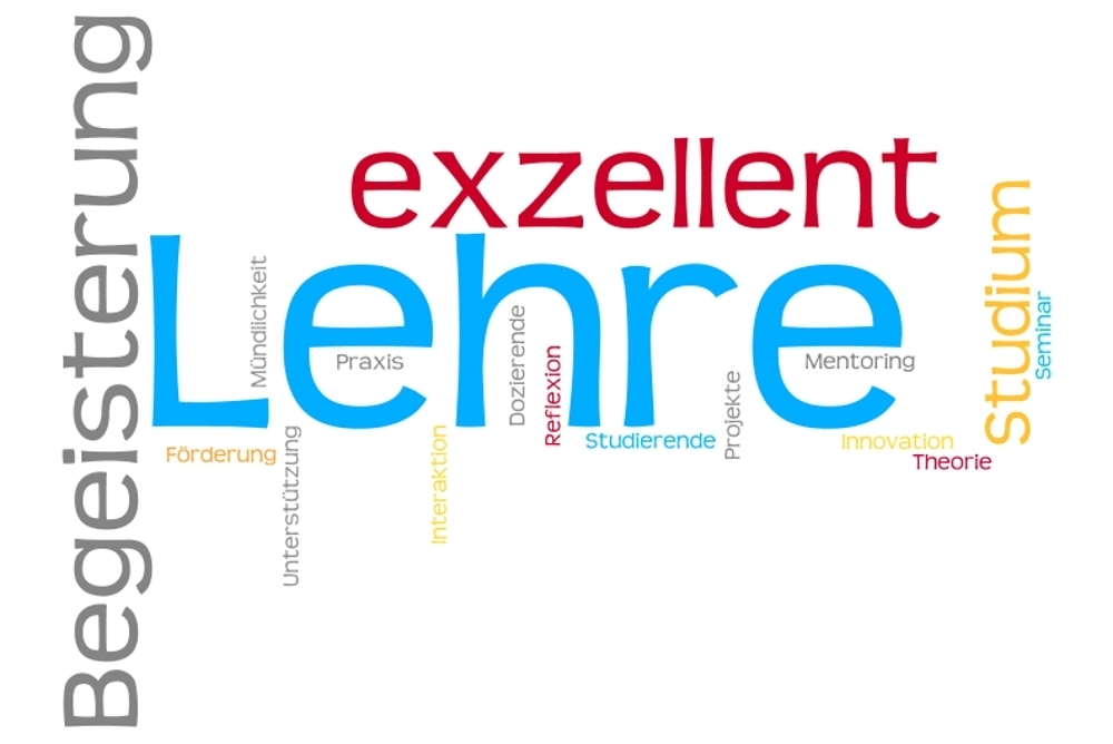 wordcloud lehre